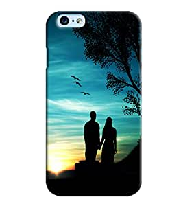 Omnam Couple Standing Near Treee Printed Designer Back Cover Case For Apple Iphone 6 S Plus