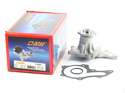OAW T1860 Engine Water Pump for Toyota Corolla Celica & Geo Prizm LSi 1.8L 7AFE 1993 - 1997 (Toyota Corolla 7afe compare prices)