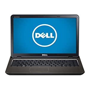 Dell Inspiron i14Z-1424BK 14-Inch Laptop (Intel Core i3-2350M 2.3GHz, 4GB DDR3, 500GB 5400 RPM, Windows 7 Home Premium 64-Bit)
