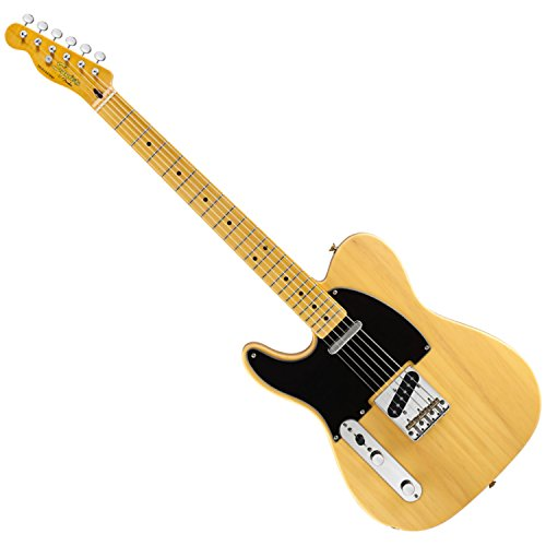 Squier by Fender Classic Vibe 50's Left Hand Telecaster Electric Guitar - Butterscotch Blonde - Maple Fingerboard (Fender Classic Vibe 50 compare prices)