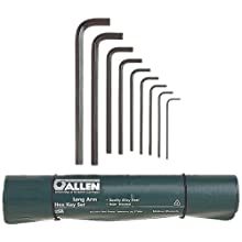 Allen 56018 Long Arm Metric Hex Key Set, 9-Piece