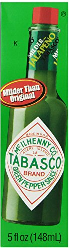 Tabasco Green Pepper Sauce, 5 oz (Tabasco Jalapeno Sauce compare prices)