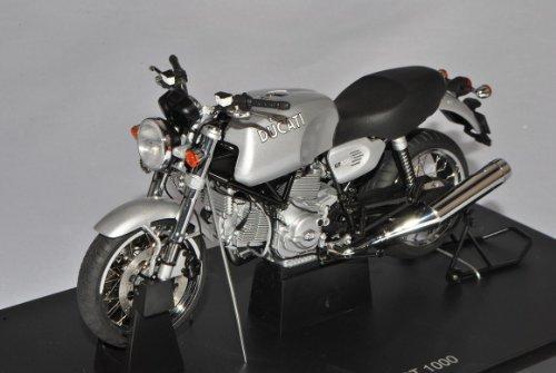 Ducati GT 1000 Silber 12547 1/12 AutoArt Modell Motorrad