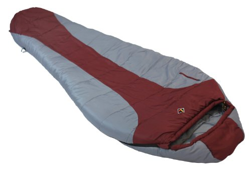 Ledge Sports FeatherLite +0 F Degree Ultra Light Design, Ultra Compact Sleeping Bag (84 X 32 X 20, Maroon)