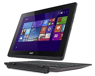 Acer SW3-013-17Z6 10.1 inch Intel Atom Z3735F Quad-core 1.33 GHz 2GB DDR3L 32GB eMMC Windows 8.1 Tablet and Keyboard (Grey)