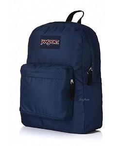 jansport backpack superbreak navy blue for. Black Bedroom Furniture Sets. Home Design Ideas