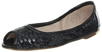 Bloch London Women's Ellen Ballet Flat,Black,38 EU/8 M US