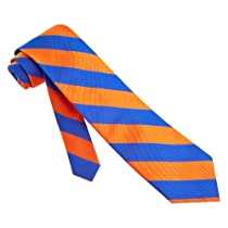 Stripe Tie By The American Necktie Co In Microfiber Necktie Neckwear