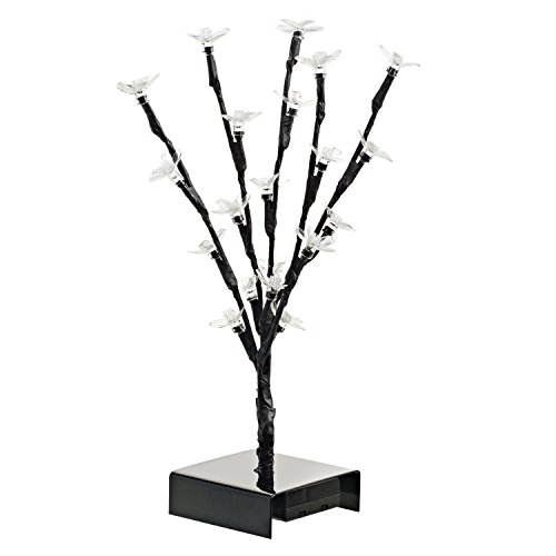ideas in life 12 inch led cherry blossom tree lighted fake trees for home decor decor love