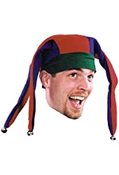 Jester Hat with Bells Costume Accessory