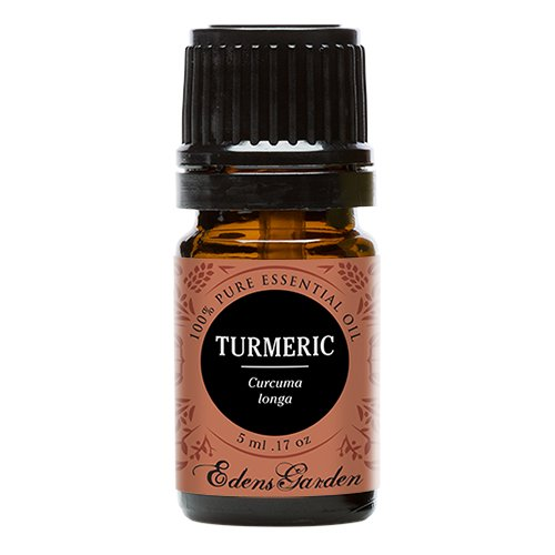 Turmeric 100% Pure Therapeutic Grade Essential Oil by Edens Garden- 5 ml