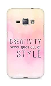 AMEZ creativity never goes out of style Back Cover For Samsung Galaxy J1 (2016 EDITION)