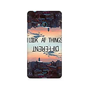 Ebby Look at Things Differently Premium Printed Case For Nokia Lumia 540