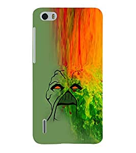 EPICCASE Scary Falls Mobile Back Case Cover For Huawei Honor 6 (Designer Case)