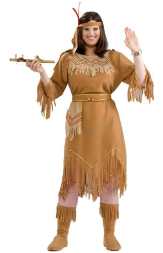 Indian Maid Costume - Plus size Costume