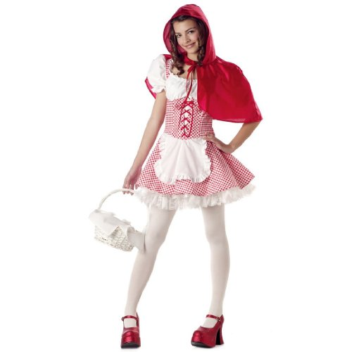 Tween Size Red Riding Hood Costume Size Youth X-Large 12-14