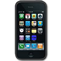 ezGear ezSkin Landau for iPhone 3G and 3GS with Screen Protector - Onyx Black