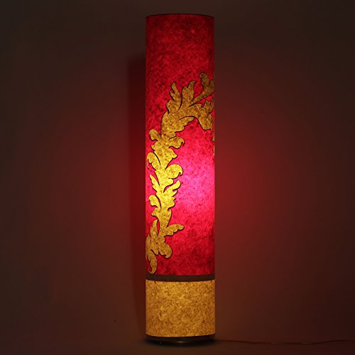practicalities-red-yellow-cylinderical-night-floor-lamp-handmade-ppaer-shade-home-office-light