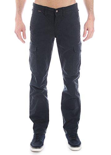 Napapijri-Pantalone multi-tasche in cotone - blu-Male-4794444