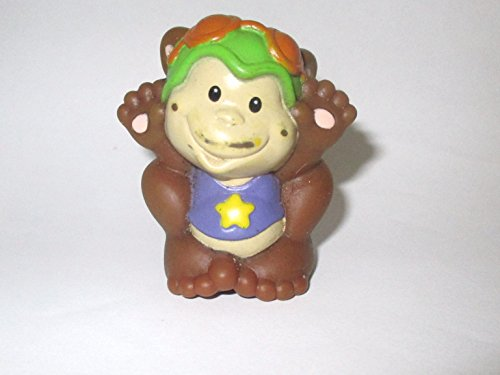 Fisher Price Little People Animal Figure Replacement Circus Amusement Park Monkey OOP 1998 - 1