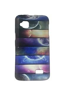 Letz Dezine Multi Color Printed Design Mobile Back Case Cover for Micromax Canvas Bolt S300