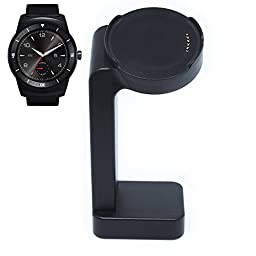 Nogis Nightstand Vertical Charger Stand Cradle Charging Station Dock for Lg G Watch R W110 Smart Watch