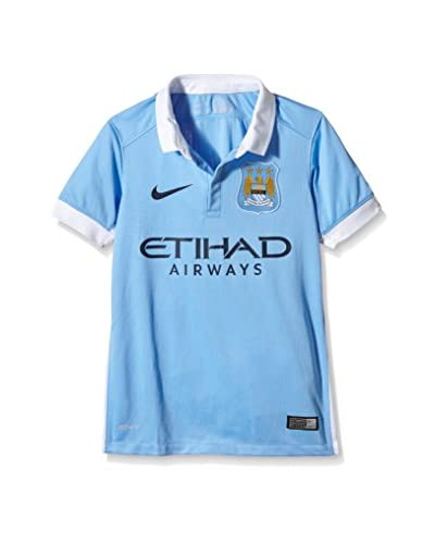 Nike Camiseta de Fútbol Manchester City Home Stadium 2015/2016 Kids Azul