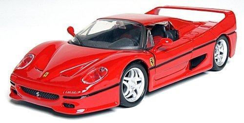 Maisto-124-Scale-Assembly-Line-Ferrari-F50-Diecast-Model-Kit-by-Maisto