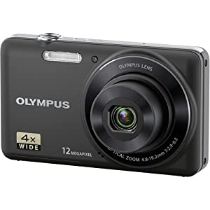 Olympus VG-110  12 MP Digital Camera with 4x Wide Zoom Lens (27mm) and 2.7-Inch LCD (Black)