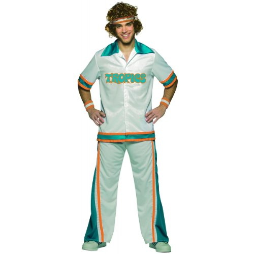 Semi-Pro Warm-Up Suit Costume - One Size - Chest Size 42-48