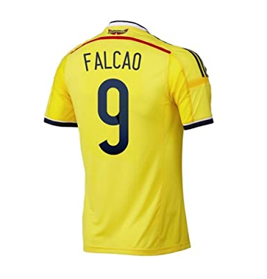 Adidas FALCAO #9 Colombia Home Jersey World Cup 2014 (L)