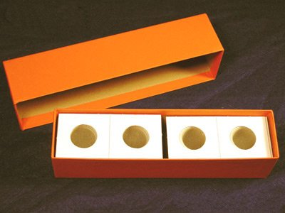 Single Row Storage Box & 100 2x2 Holders for QUARTERS