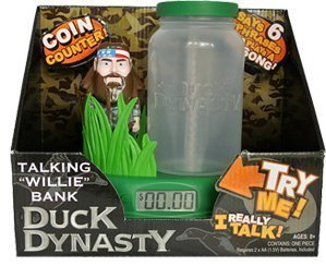 A&e Duck Dynasty Talking Bank (Willie)