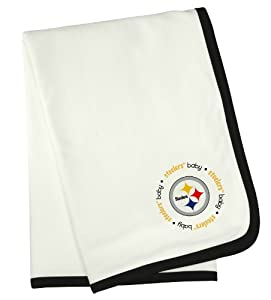 NFL Pittsburgh Steelers Baby Fanatic Receiving Blanket