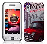 London City Design Hard Skin Case For Samsung GT S5230 Tocco Lite star