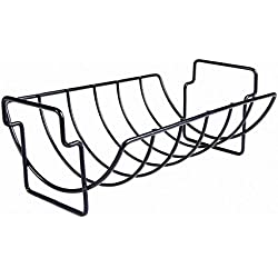 Charcoal Companion Non-Stick Reversible Roasting / Rib Rack - CC3001