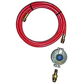 Red Dragon SL-1C Low Pressure Propane Hook Up Kit With 10-Foot Hose