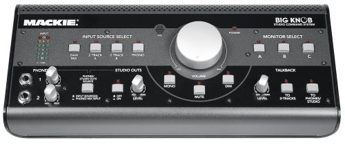 Mackie Big Knob - Tabletop Level Control / Monitor Switcher / Source Selector And Talkback Box