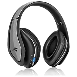 Sentey LS-4560 B-trek H9 Bluetooth Wireless Foldable Headphones with Carrying Case