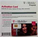 T-Mobile USA (Tmobile T Mobile) SIM Card and Prepaid Activation Kit