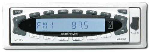 Polyplanar MR45C-W AM/FM/CD White Marine Stereo