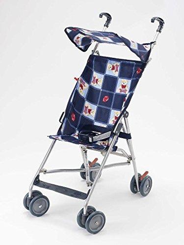 BIG OSHI Baby Time Shopping Umbrella Stroller - STR-920 - Blue