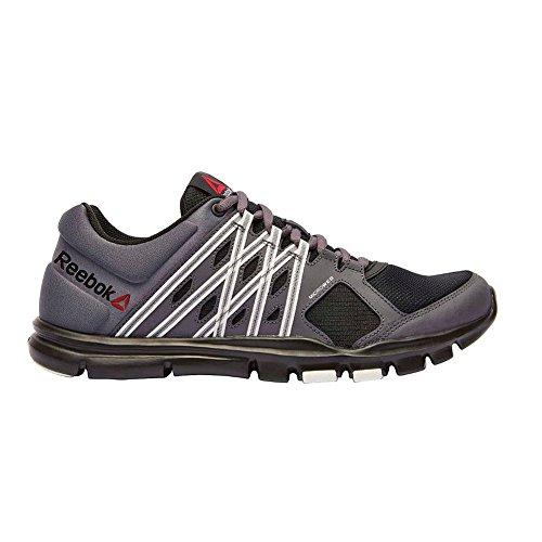 Yourflex Train   Sports Shoes Medium Grey Red
