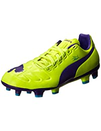 PUMA Evopower 3 Firm Ground JR. Soccer Shoe (Little Kid/Big Kid)