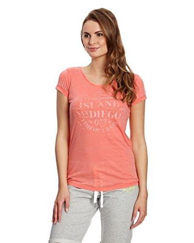 Time Out T-Shirt Manica Corta [Corallo]