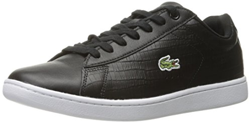 Lacoste Men's Carnaby Evo G316 5 Spm Fashion Sneaker, Black/Black, 8.5 M US