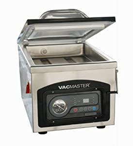 VacMaster Chamber Vacuum Sealer with Oil Pump - Stainless Steel VP215