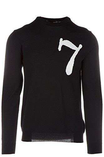 Love Moschino maglione maglia uomo girocollo nero EU M (UK 38) M S 4U5 01 X 0478 40