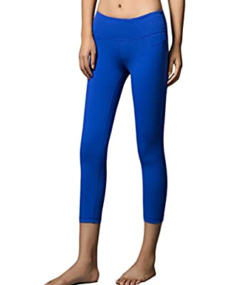 UDIY Women's Running Capri Tights Yoga Pants Leggings
