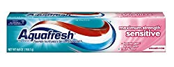 Aquafresh Sensitive Toothpaste, 5.6-Ounce (Pack of 4)
